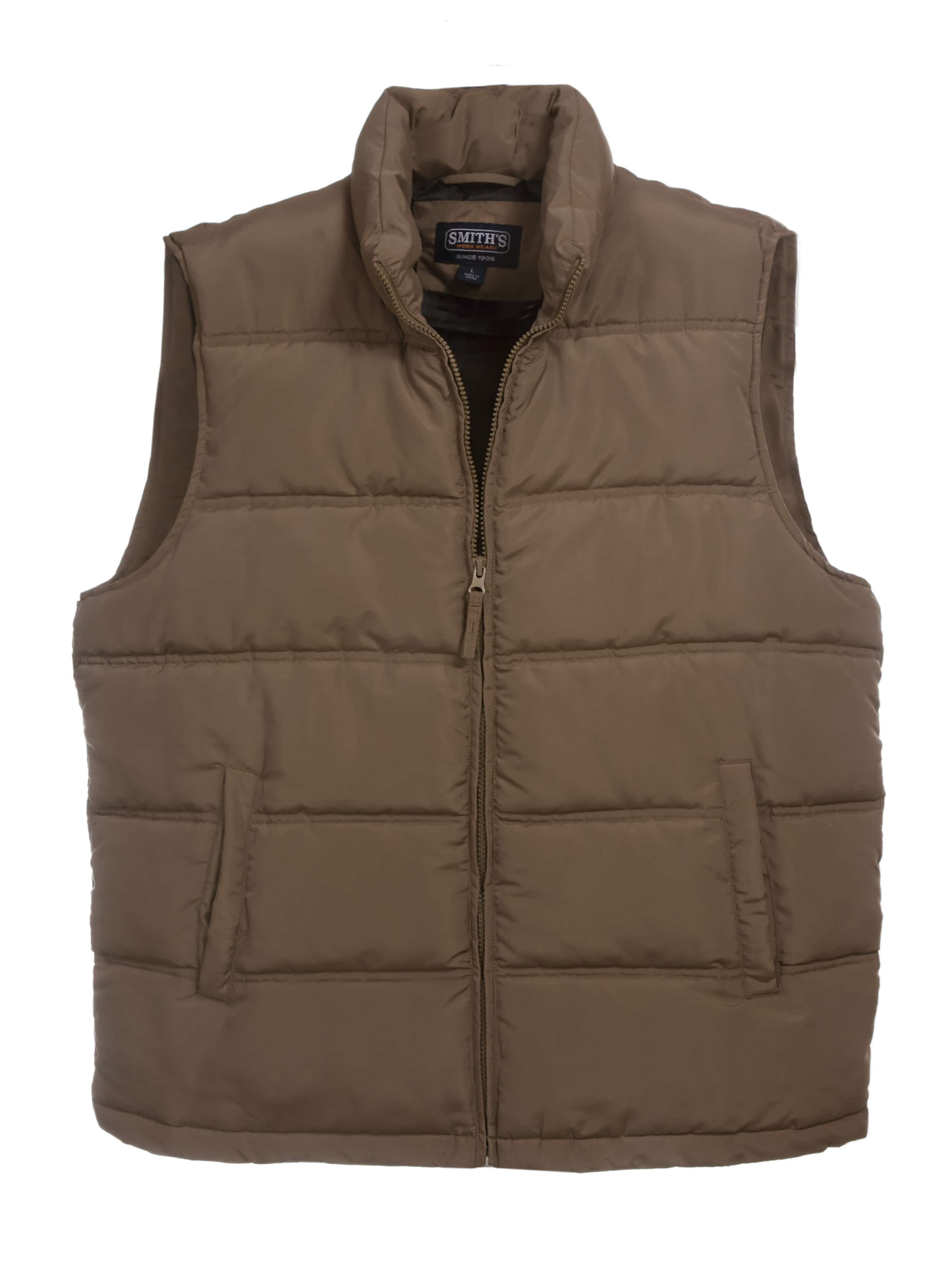 Men's Double Insulated Puffer Vest