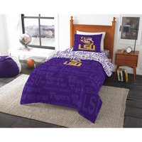 NCAA Louisiana State University Tigers Bed in a Bag Complete Bedding Set