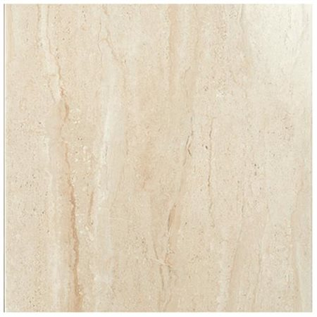 """Travertini 16.75"""" x 16.75"""" Floor and Wall Tile in Beige"""