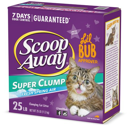 Scoop Away Super Clump Clumping Cat Litter, Scented, 25