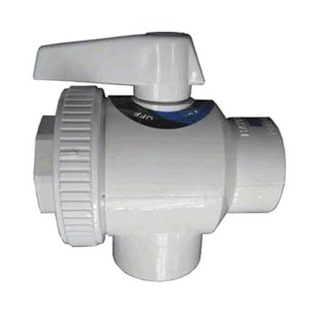 Hayward Sp0735 Swimming Pool 1 1 2 Fip Pipe Deluxe 4 Way Replacement Ball Valve