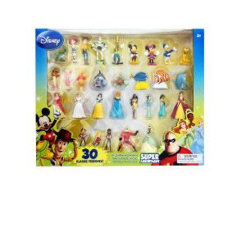 Beverly Hills Teddy Bear Company Disney Super Assortment Toy Figure Playset, 30-Piece... by Beverly Hills Teddy Bear