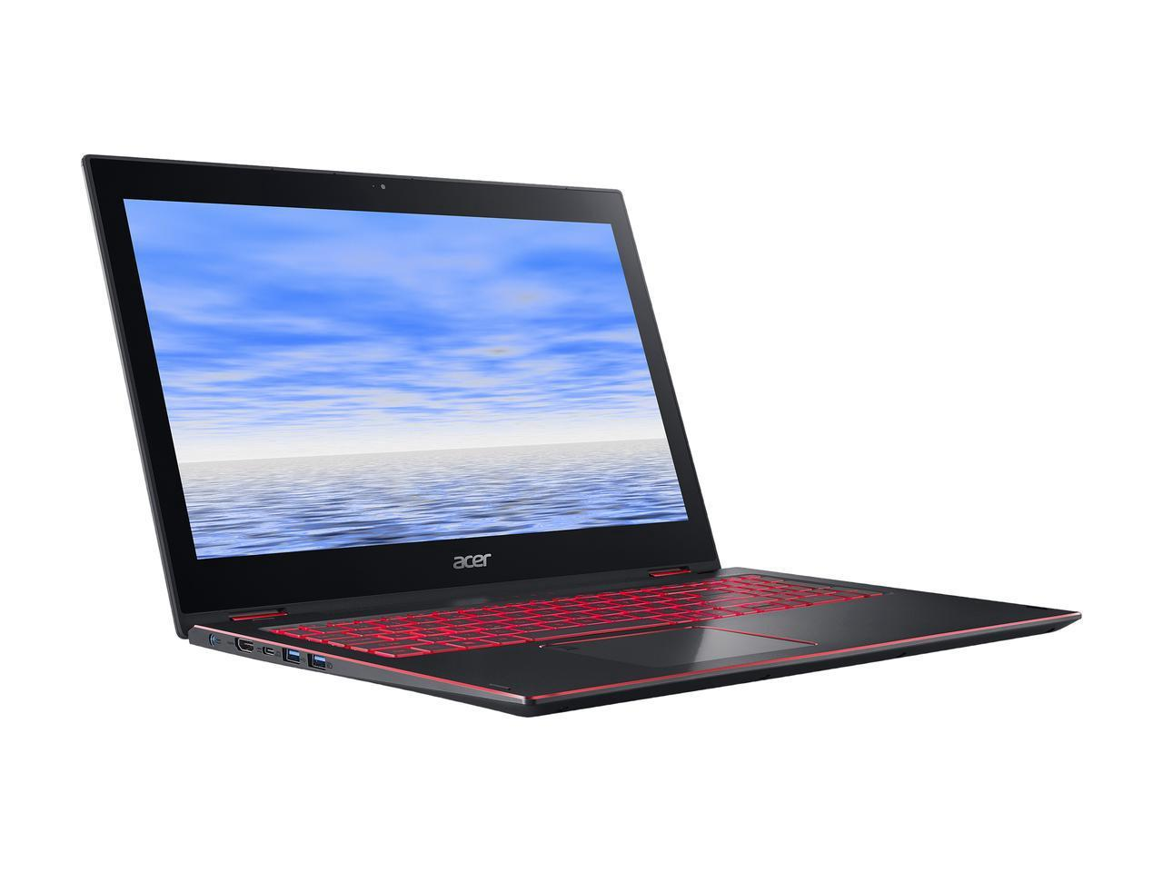 Acer Nitro 5 Spin NP515-51-887W Intel Core i7 8th Gen 8550U (1.80 GHz) 8 GB Memory 1 TB HDD NVIDIA GeForce GTX 1050... by Acer