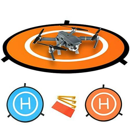 "PGYTECH 30"" (75cm) Universal Portable Fast-Fold Landing Pad for RC Drones Helicopter DJI Mavic Air, Mavic Pro, Phantom 2/3/4/4 Pro, Inspire 2/1, 3DR Solo, GoPro Karma, Parrot, Antel Robotic & More (L)"
