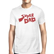 Super Dad Father Day Gift T-Shirt White Cotton Gifts For New Dad