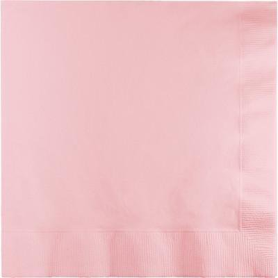 Creative Converting Classic Pink Beverage Napkin, 3 Ply, 50 ct (Classic Beverage)