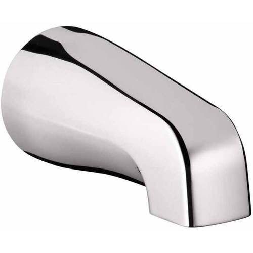 "Hansgrohe 06500001 Tub Spout Non-Diverter with 1/2"" Female NPT inet, Chrome"