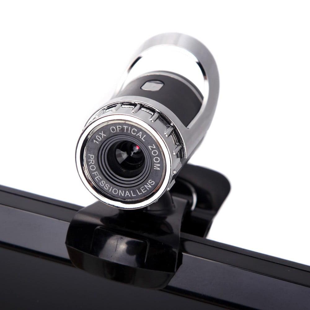 USB 2.0 50M Megapixel HD Camera Web Cam 360° with MIC Clip-on for Desktop Skype