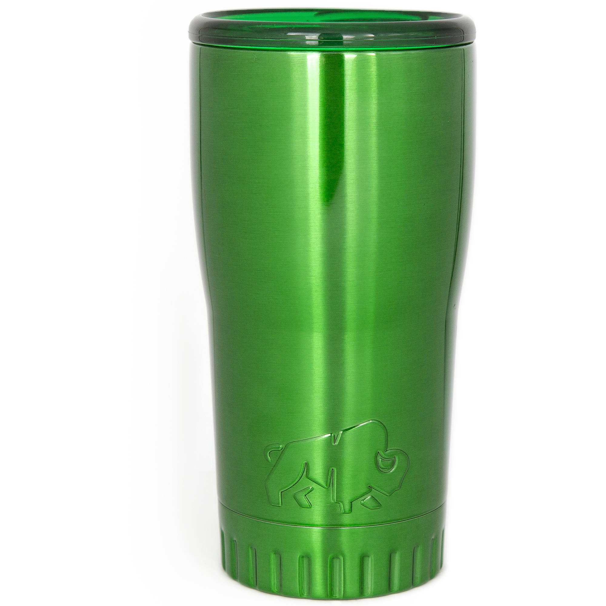 Silver Buffalo Stainless Steel Insulated Tumbler, 20 oz., Green