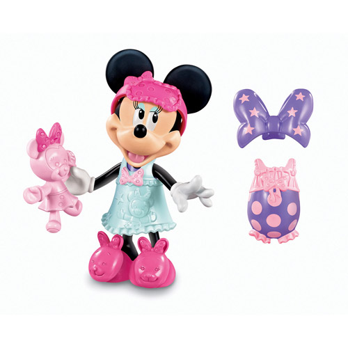 Fisher-Price Minnie Mouse Basic Sleepover Bow-Tique Play Set