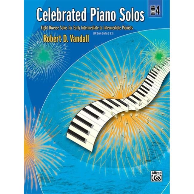 Alfred 00-881340 Celebrated Piano Solos- Book 4 - Music Book