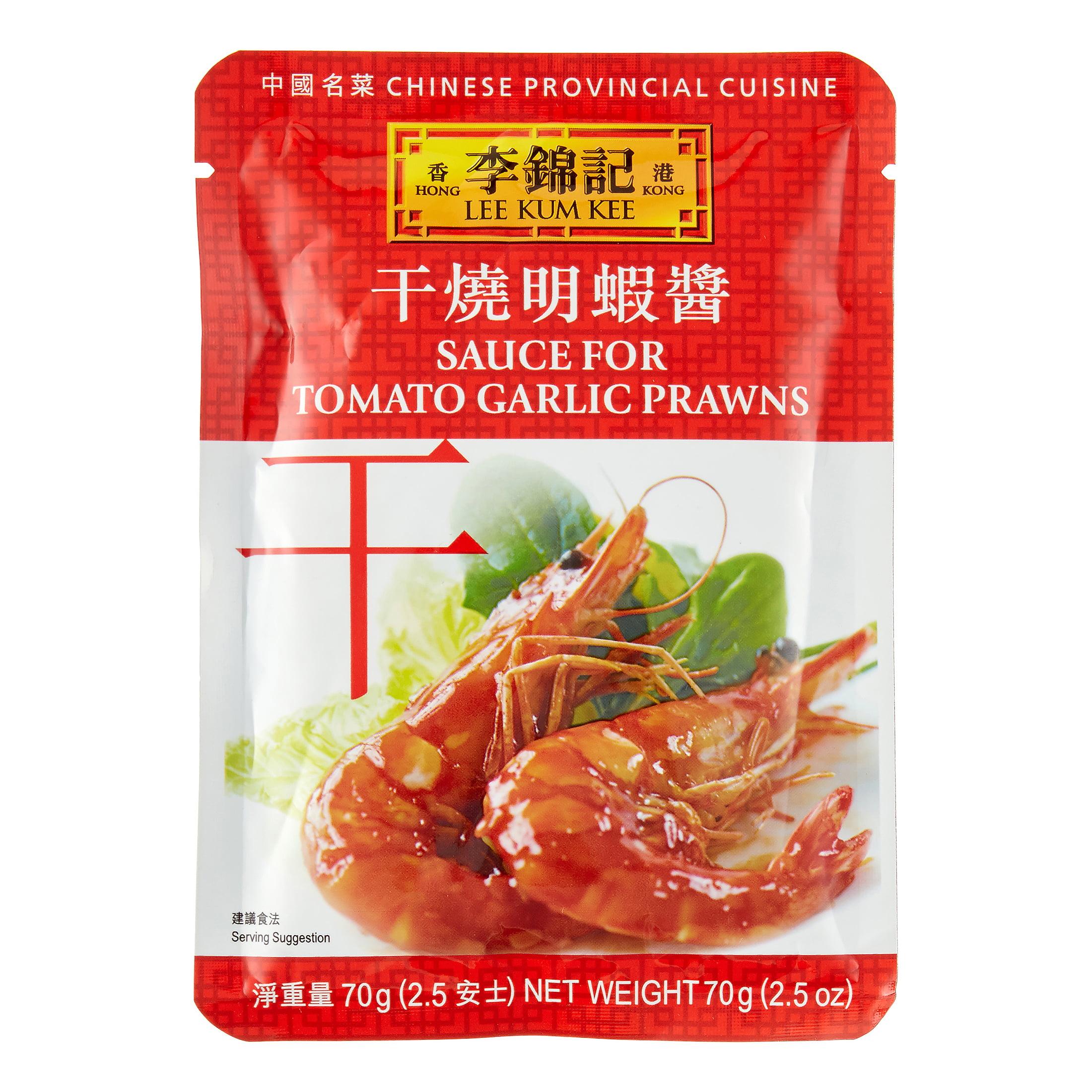 Lee Kum Kee Sauce For Tomato Garlic Prawns, 2.5 oz by Lee Kum Kee