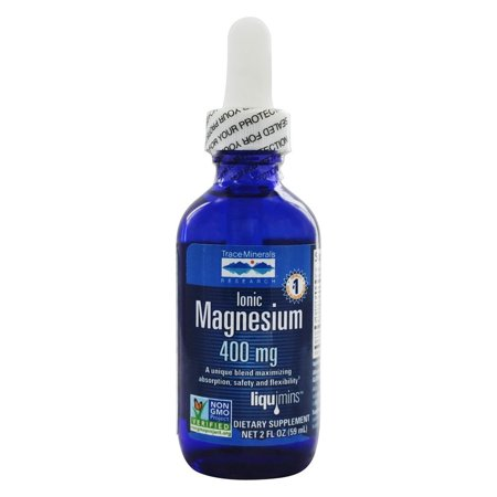 Trace Minerals Research - Liquid Ionic Magnesium 400 mg. - 2