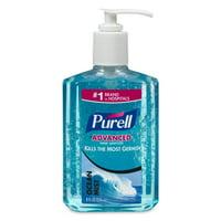 PURELL Ocean Mist Instant Hand Sanitizer Gel, 8 Oz Pump Bottle, Blue