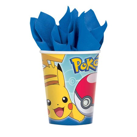 Pokemon 'Sun and Moon' 9oz Paper Cups (8ct)