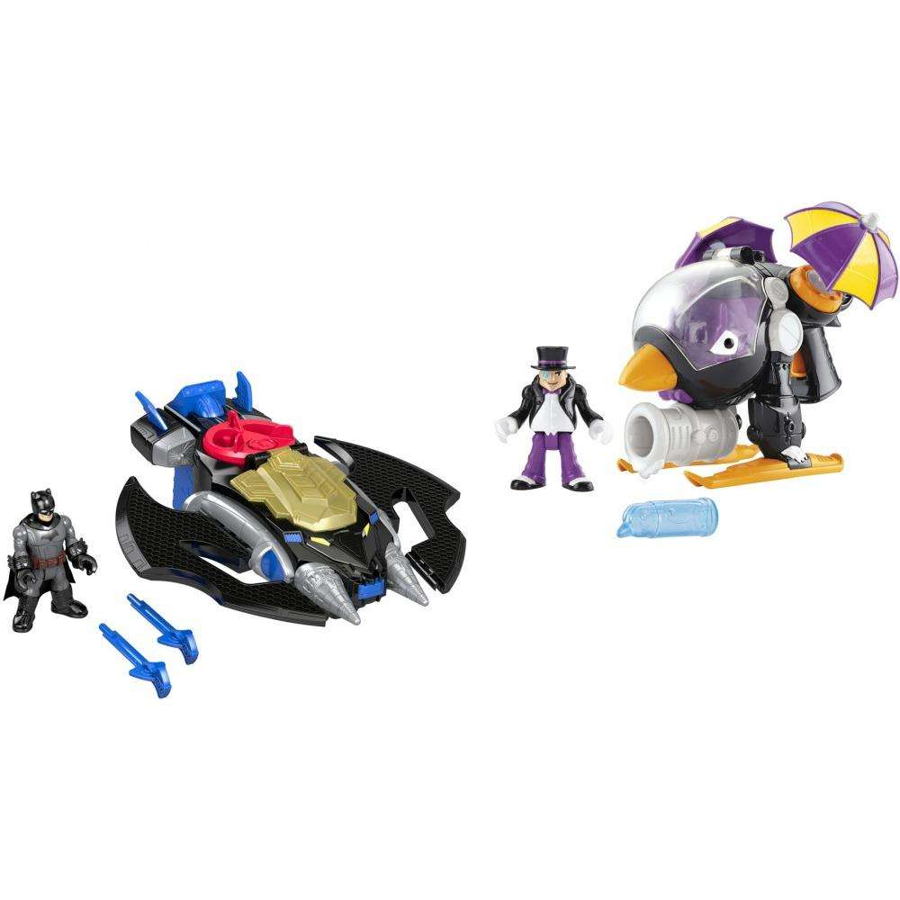 IMaginext DC Super Friends Batwing & the Penguin Copter by FISHER-PRICE BRANDS A DIVISION OF MATTEL DIRECT IMPORT INC