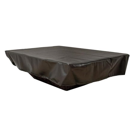 Hearth Products Controls Rectangular Black Vinyl Fire Pit Cover, 114