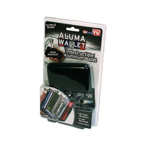 As Seen on TV Aluma Wallet, Black