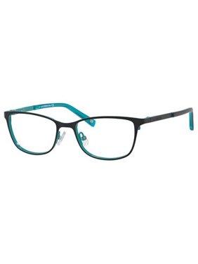 7c66fd1019c64 Product Image Liz Claiborne 436 Eyeglasses 0JFU 50 Black Turquoise