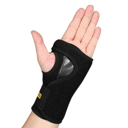 HERCHR Compression Long Thumb Brace - Thumb Spica Splint for Arthritis, Tendonitis. Fits Both Right Hand and Left Hand. Wrist, Hands, Thumb Stabilizer and Immobilizer