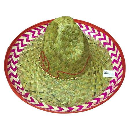 Red Salsa Cinco de Mayo Fiesta Festive Sombrero Hat Costume (Sombrero Dip Hat)