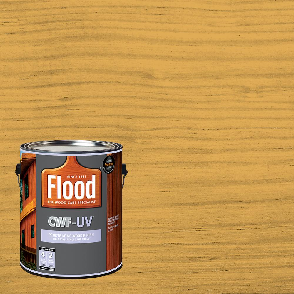 Flood Ppg Fld442 Cwf Clear Natural Exterior Wood Stain Voc: Flood CWF-UV Penetrating Wood Finish Natural