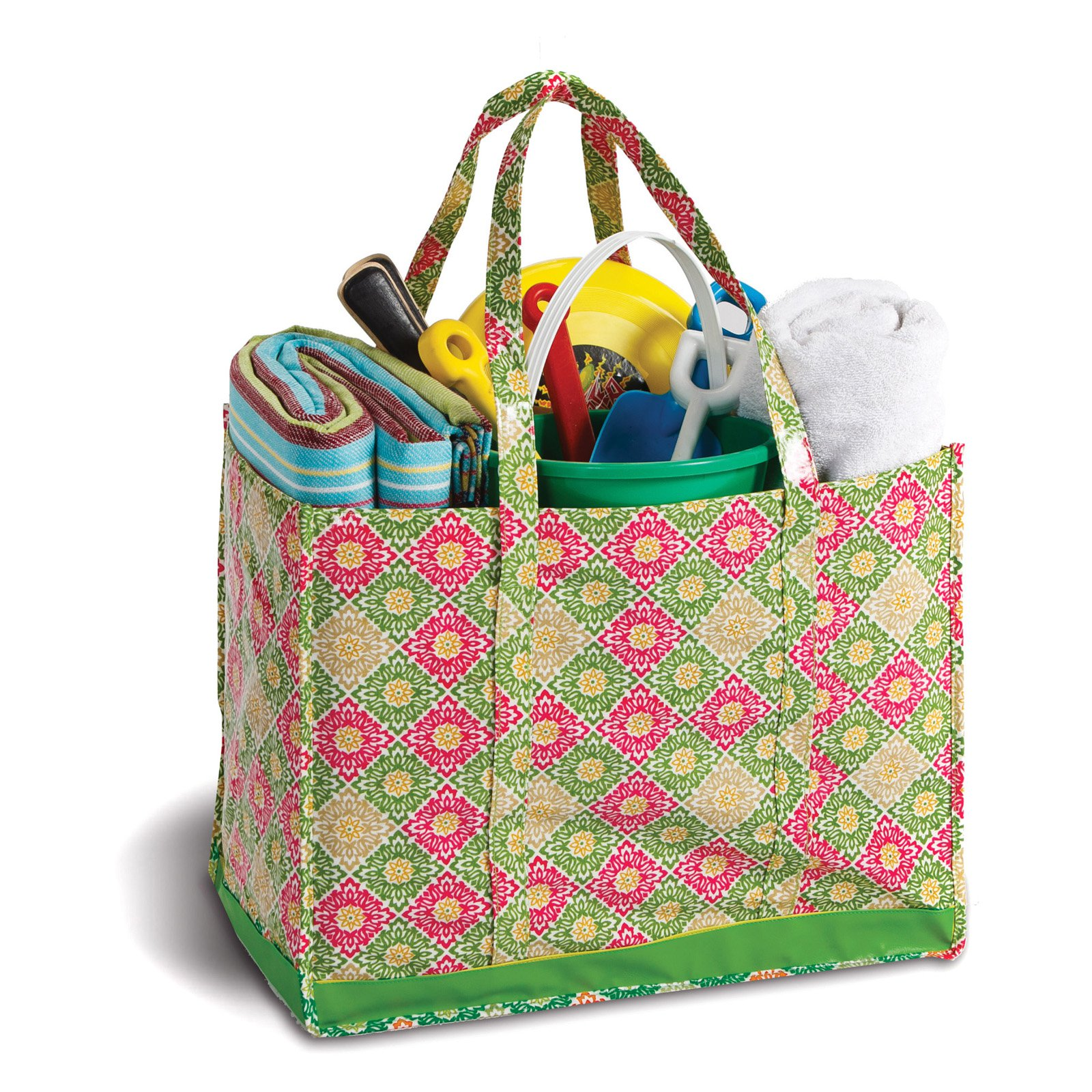 Picnic Plus Moxie Town Family Picnic Tote - Green Gazebo