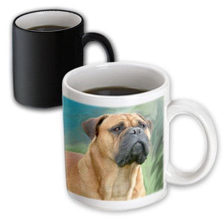 - 3dRose Bullmastiff - Magic Transforming Mug, 11-ounce