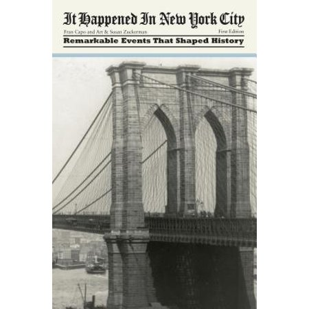 New York City : Remarkable Events That Shaped History for $<!---->