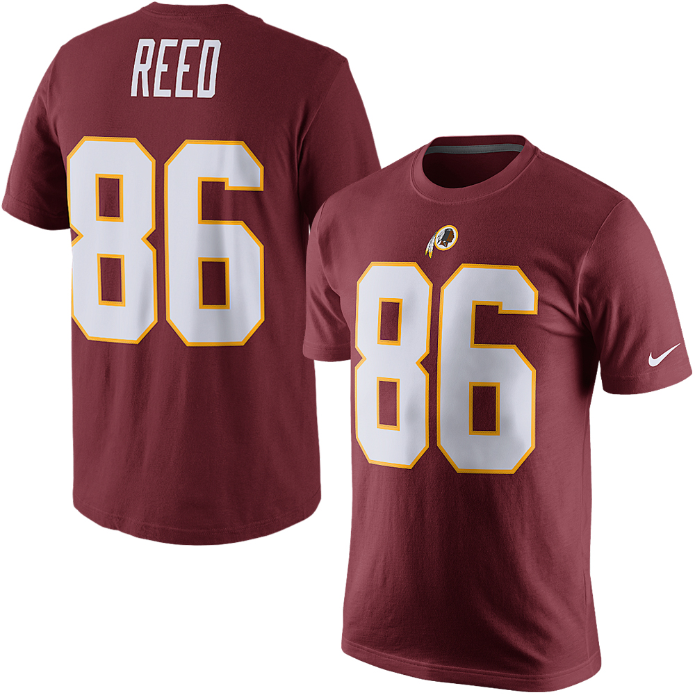 Jordan Reed Washington Redskins Nike Player Pride Name & Number T-Shirt - Burgundy