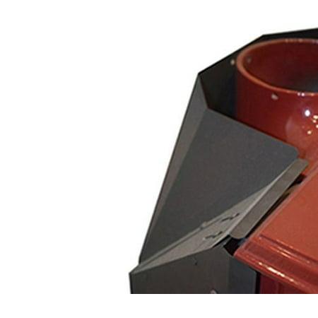- Monessen 0000172 Rear Heat Shield for Intrepid II Wood Stove