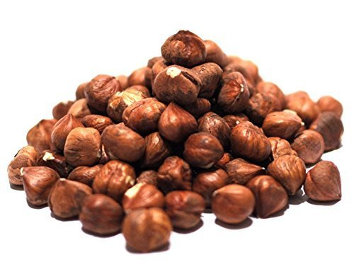 Gourmet Hazelnuts by Its Delish (Roasted Salted, one pound) by Its Delish