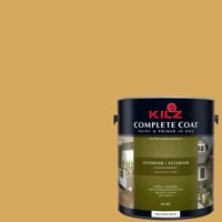 Heart of Gold, KILZ COMPLETE COAT Interior/Exterior Paint & Primer in One, #LE110-01