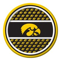 """Club Pack of 96 NCAA University of Iowa Hawkeye Paper Party Luncheon Plates 7"""""""