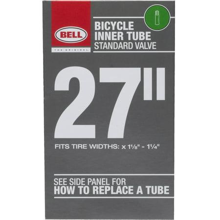 Bell Standard Schrader Bicycle Inner Tube, 27