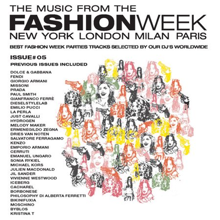 The Music From The Fashion Week: Issue #5 (CD) (Disco Fashion)