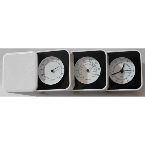 3-in-1 Clock, The clock gives time, temperature and humidity. Three functions in one. Great clock to have., Product Size: 2.36x8.26x0.78