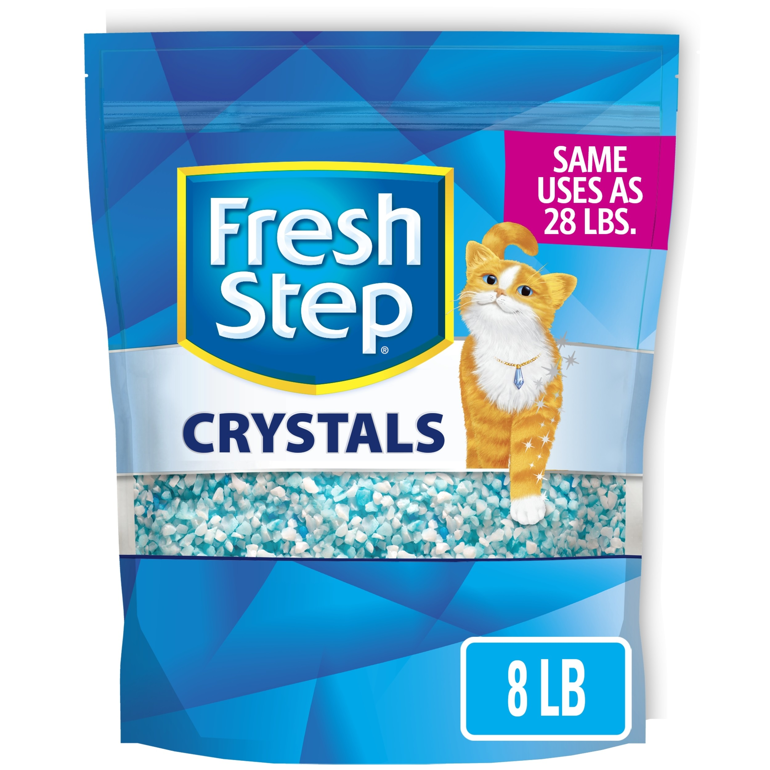 Fresh Step Crystals Premium Cat Litter Scented 8 Pounds Walmart Com Walmart Com