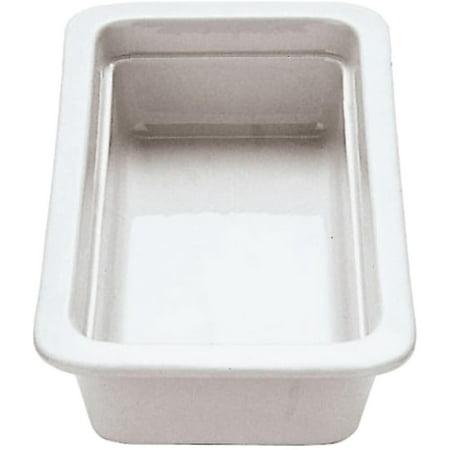 World Porcelain - Paderno World Cuisine Porcelain 1/3 GN Hotel Pan / Baking Dish, 2.5