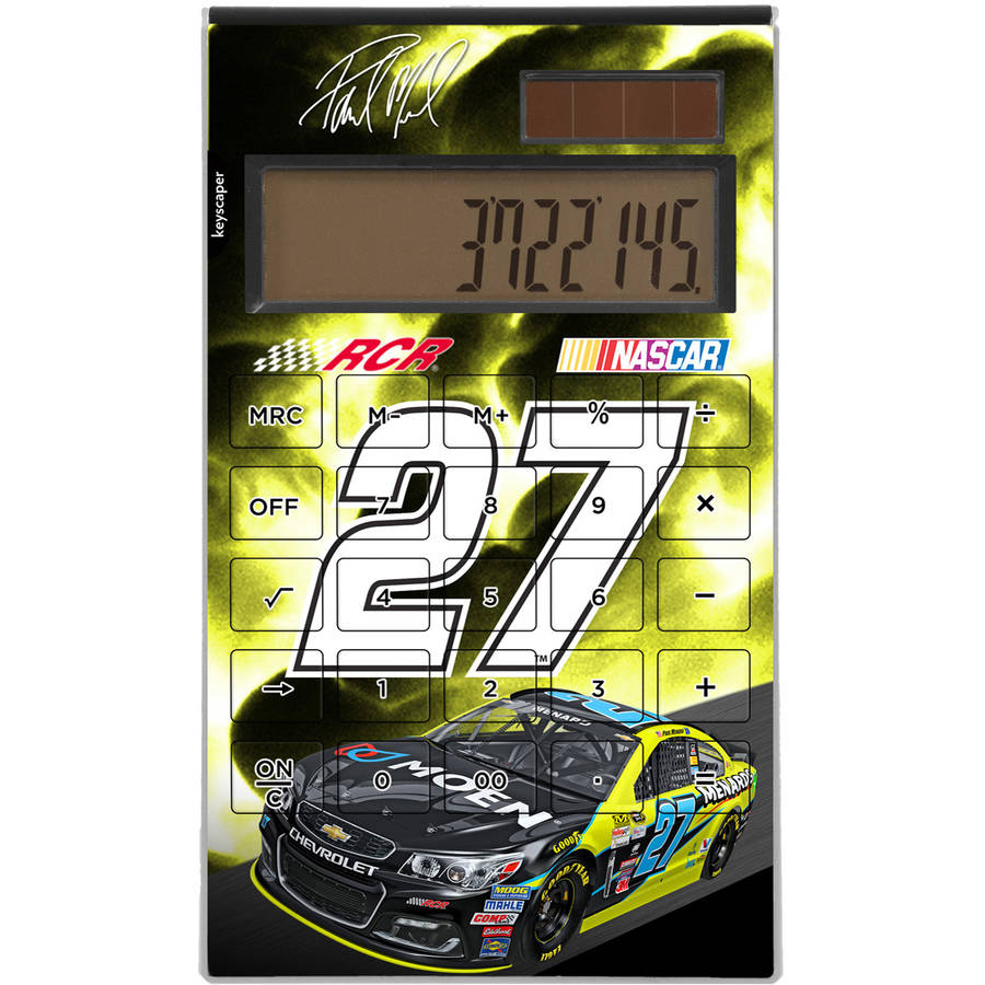 Paul Menard 27 Menard's Desktop Calculator by Keyscaper
