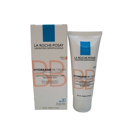 Laroche Posay Sun Protection Cream - La Roche-Posay Hydreane BB Cream Medium Shade 40 ml