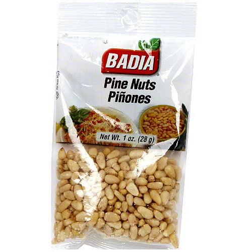 Badia Pine Nuts, 1 oz (Pack of 12)