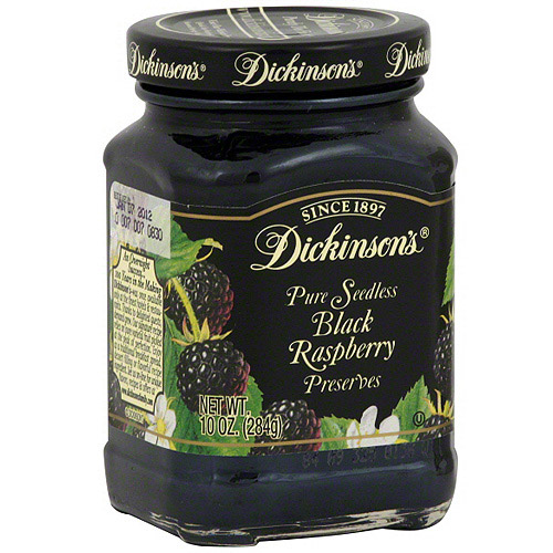 Smucker's Seedless Black Raspberry Jam, 10 oz (Pack of 6)