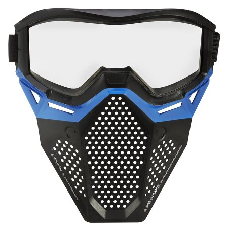 Nerf Rival Face Mask (Blue) by Nerf