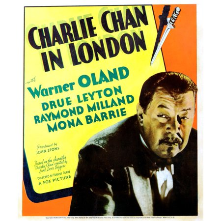 Charlie Chan In London Warner Oland 1934 Tm And Copyright 20Th Century Fox Film Corp All Rights ReservedCourtesy Everett Collection Movie Poster Masterprint](Scary Films Halloween London)