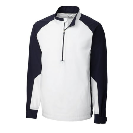 Cutter & Buck Men's Long Sleeve CB WeatherTec Summit Performance Golf Half Zip Jacket