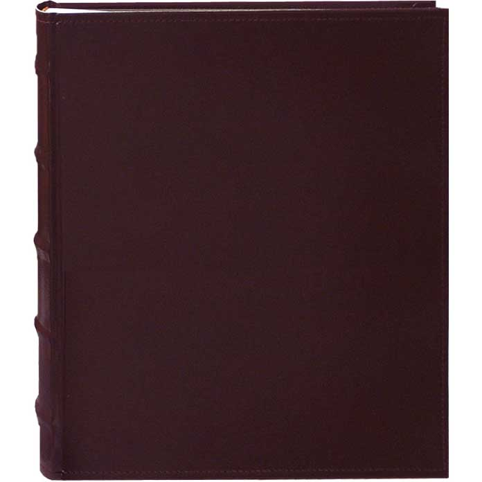 Pioneer Photo Albums CLB246-BU Leather Bi-Directional Album 4X6 2-UP 200 Photo Burgundy