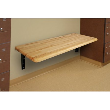 - WB Manufacturing Hardwood Locker ADA Bench