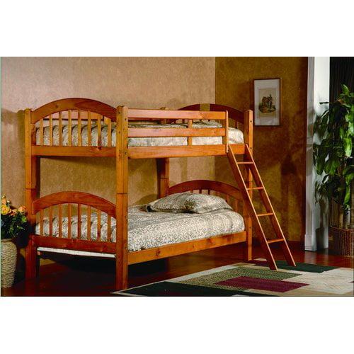 Harriet Bee Jaren Twin over Twin Bunk Bed