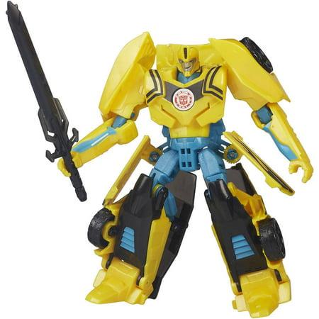Transformers Robots in Disguise Warrior Class Night Strike Bumblebee Figure